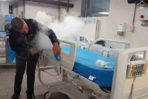 czyszczenie w szpitalu
