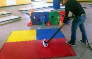 dezynfekcja dywanów w przedszkolu